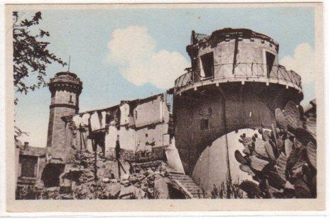 ALISTRO  Le phare et le cimenfor après le bombardement de 1943