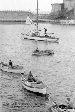 Bastia Barrage des Pêcheurs