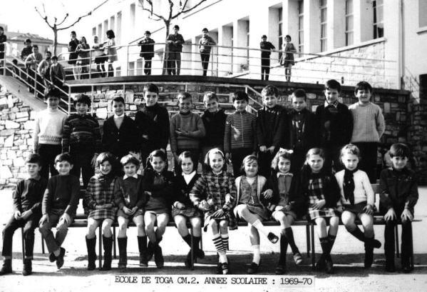 Bastia école de Toga 1969-1970