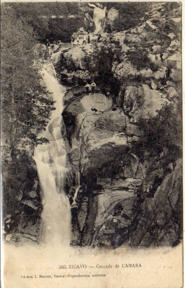 cascade de camara
