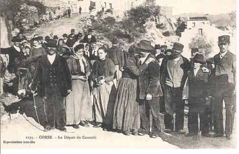 CASTIRLA  Le départ du conscrit