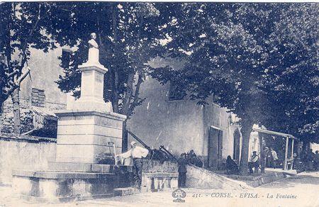 La fontaine d'Evisa