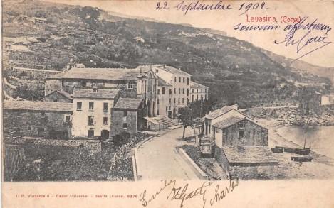 Lavasina en 1902