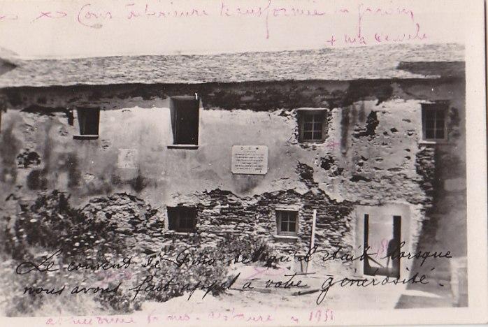 Couvent de Pino avant restauration de 1951.jpg