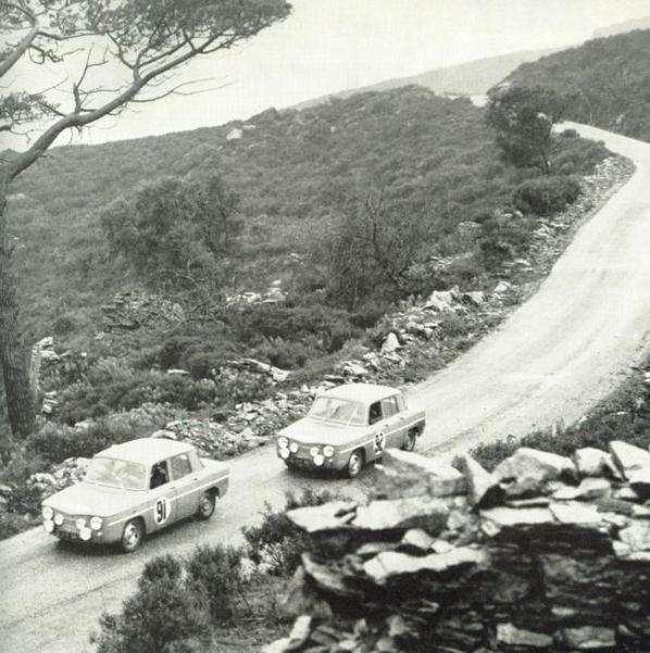 1964 Jean Vinatier - Roger Masson - Renault 8 Gordini 1100.jpg
