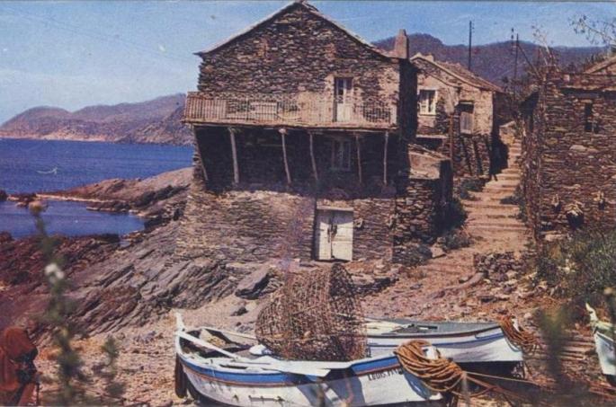 PINO la marine de scalo, village de pêcheurs - 1960