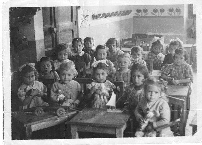 Bastia Ecole Maternelle de toga 1947