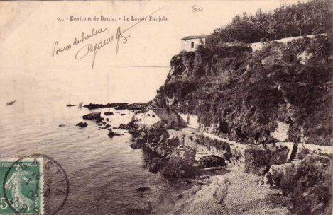 plage de Ficaghjola bastia