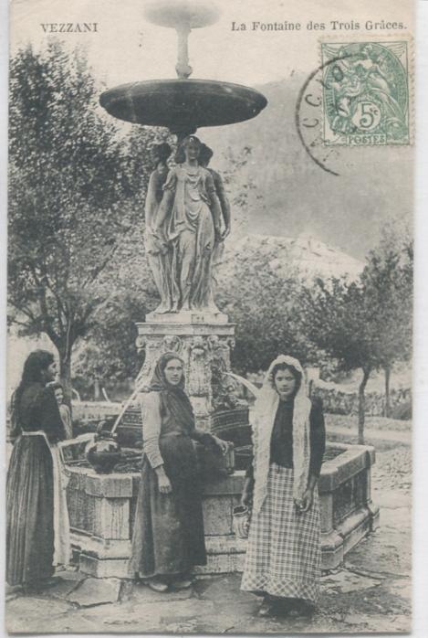 VEZZANI - La Fontaine des trois Graces