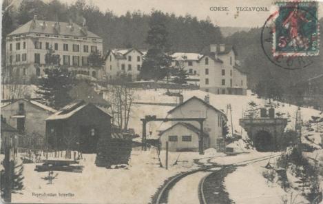VIZZAVONA - La Gare